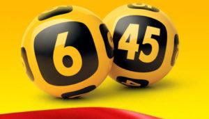 Лотерея 6 из 45